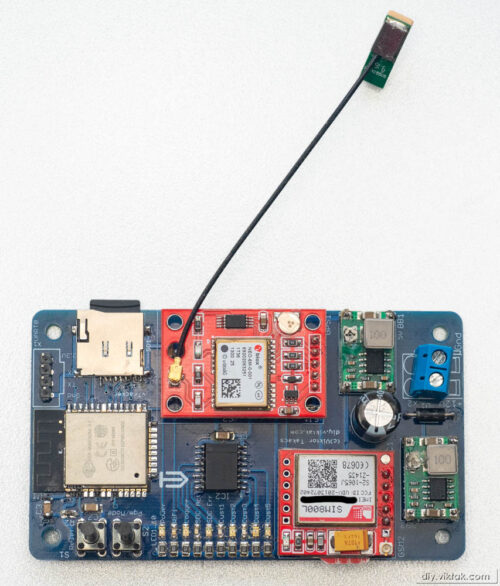 GPS/GSM Vehicle Tracker/Recorder